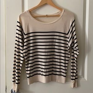Aritzia TNA Striped Sweater